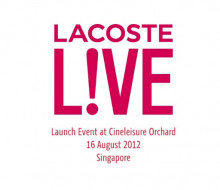 Lacoste Live! Launch Event Video